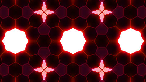 Kaleidoscope Hex 3 Bb 4 HD Stock Video Footage