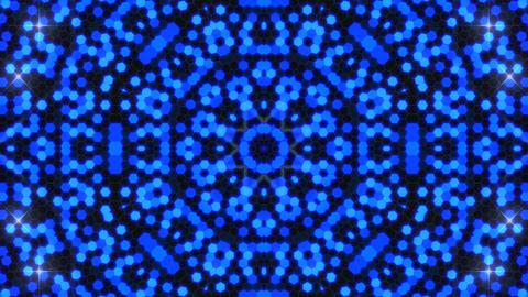 Kaleidoscope Hex 3 Ca 1 F HD Stock Video Footage