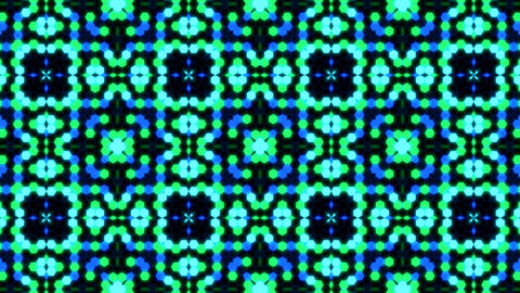 Kaleidoscope Hex 3 Ca 3 HD Stock Video Footage
