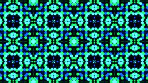 Kaleidoscope Hex 3 Ca 3 HD Stock Video Footage