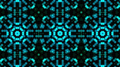Kaleidoscope Hex 3 Ca 4 HD Stock Video Footage