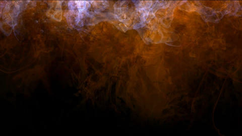 explosion magma energy field,smoke & fire in space Animation