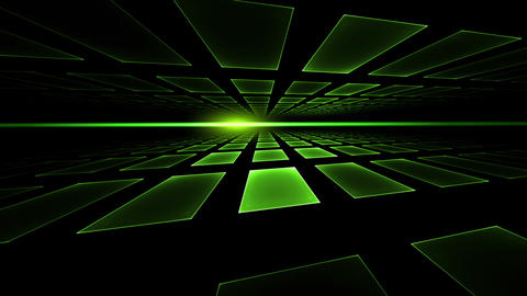 Ray of Light, Green Cubic Horizon Animation