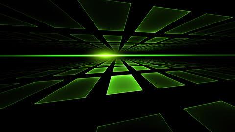 Ray of Light, Green Cubic Horizon Animation