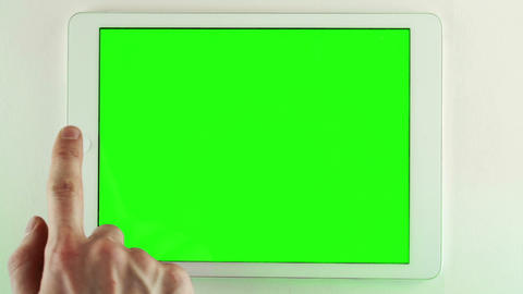 Using Tablet Pc With Green Screen Footage