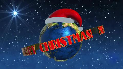 Merry Christmas Earth animation Animation