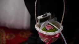 Basket ring worn by a boy to a wedding 124 Footage