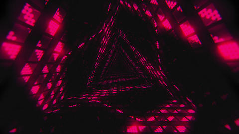 VJ Loop Pink Tunnel Animation