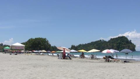 Tourists on the beach ライブ動画