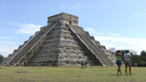 Chichen Itza, Mexico Footage