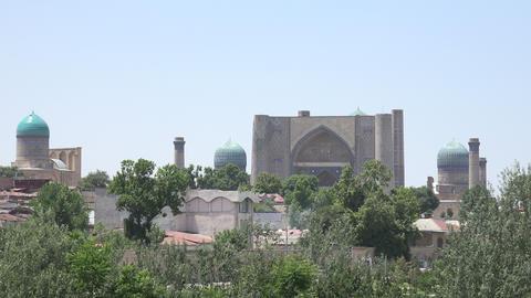 Samarkand, Uzbekistan Footage
