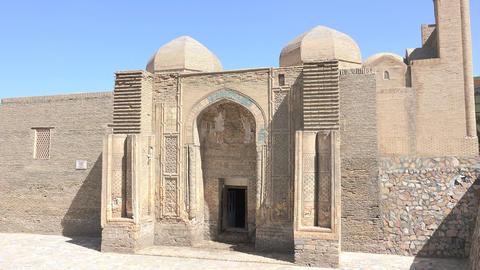 Magoki Attori Mosque, Bukhara, Uzbekistan Footage