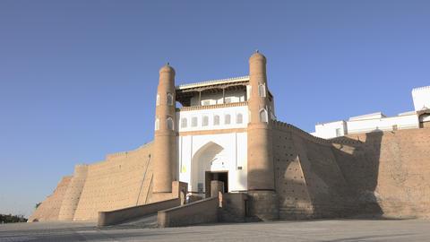 Ark Fortress, Bukhara, Uzbekistan Footage