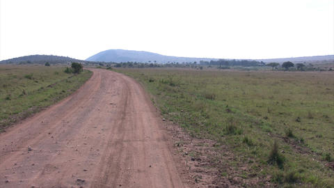 Dirt Road, Masai Mara Footage