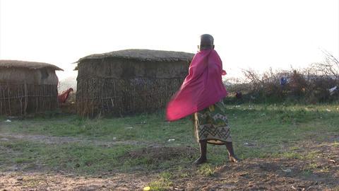 Masai People, Masai Mara Footage