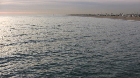 Pacific Ocean, Newport Beach Footage