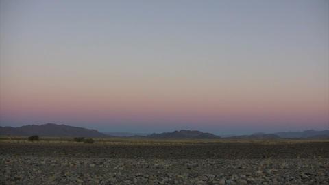 Namib Desert at Dusk, Namibia Footage