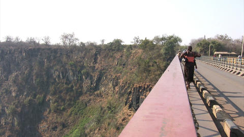Victoria Falls Bridge Footage