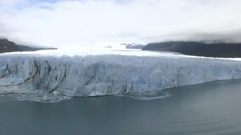 Perito Moreno Glacier In Lake Footage