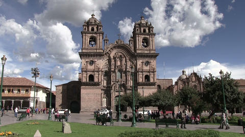View of Plaza de Armas Footage