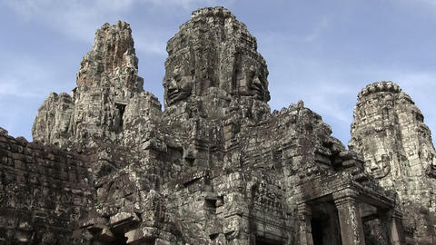 Angkor Wat Temple Footage