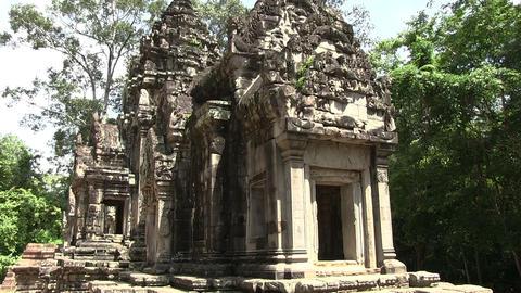 Angkor Wat Temple Footage