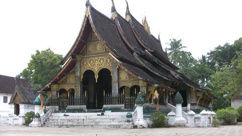 Wat Xieng Thong, Luang Prabang, Laos Footage