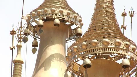 Close-up of stupas ビデオ