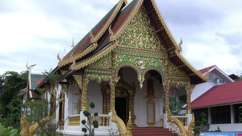 Wat Chiang Man, Chiang Mai, Thailand Footage