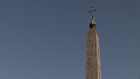 Piazza del Popolo, Rome, Italy Footage