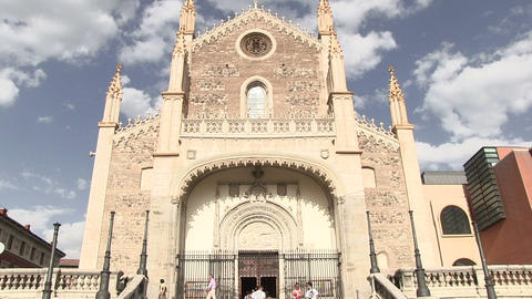San Jeronimo Church Footage