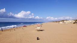 Huntington Beach coast Footage