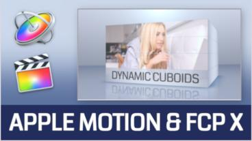 Dynamic Cuboids - Presentation Template for Apple Motion and Final Cut Pro X Apple Motion Template