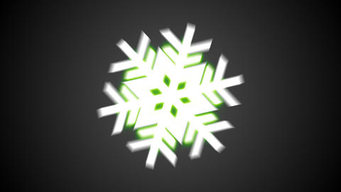 RGB snowflakes_zoom in Animation