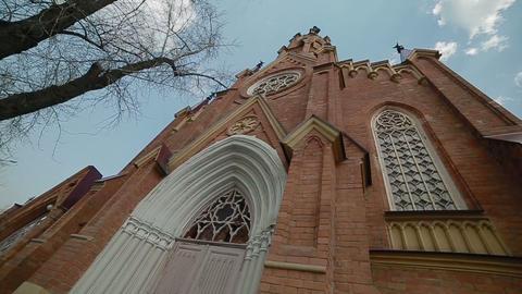Сatholic church panorama Footage