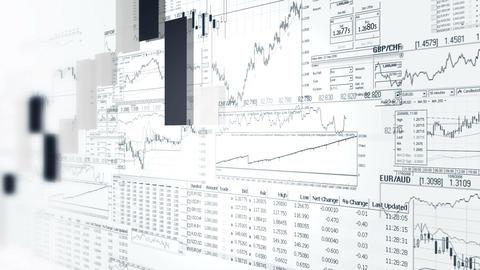 Finance Bar Graphs. Market Analyze. Business Analytics Background stock footage