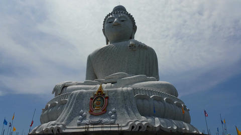 4k Phuket's Big Buddha - Buddhist Religious Landmark