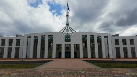 Parliament House - Canberra stock footage