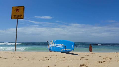 BONDI BEACH LIFEGARD, SYDNEY, AUSTRALIA Footage