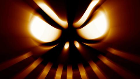 Horror Halloween jack-o-lantern evil spooky scary face Footage