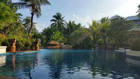 Hotel Resort Pool - Luxury Holiday Footage