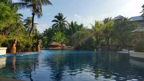 Hotel Resort Pool - Luxury Holiday Footage