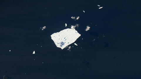 Global Warming Ice Melting Footage