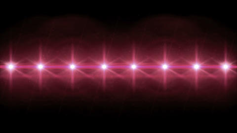 Stars lens flares pattern 4k Animation