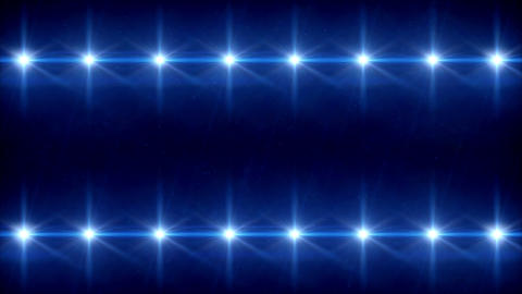 double Stars lens flares pattern 4k Animation