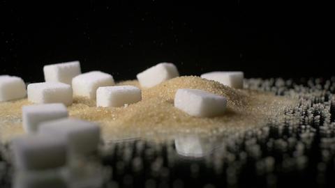 Raw Sugar Cane Glucose Sweetener Footage