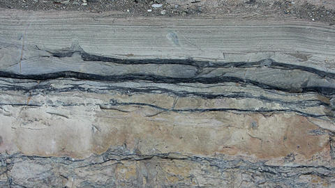 Geology - Sedimentary Rock Structures Footage
