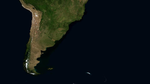 South America from Space Live Action