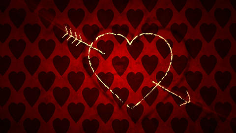 Valentine's Day Romantic Love Icon Animation Animation