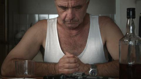 suicide depression drug addiction mental health disorder Footage